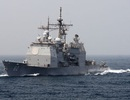 Máy bay không người lái đâm trúng tàu chiến Mỹ