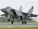 Máy bay tiêm kích MiG-31 của Nga gặp nạn