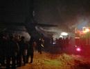 Máy bay vận tải Nga đâm xuống kho quân sự, 9 người chết