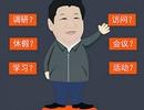 """Trung Quốc phá vỡ """"cấm kỵ"""" về tranh hoạt họa nguyên thủ"""