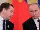 Tổng thống Putin tăng lương cho mình và Thủ tướng Medvedev