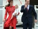 Hoàng tử bé nước Anh lần đầu công du nước ngoài