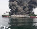 Nổ lớn trên tàu chở dầu Nhật Bản, 1 người mất tích