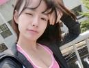 Nữ sinh Trung Quốc thu hút với bộ ảnh tập gym