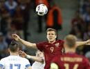 Video bàn thắng và tình huống trận Nga 1-2 Slovakia