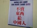 Vì sao nhà hàng ở Đà Nẵng không bán hàng cho người Trung Quốc?