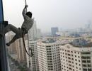 Treo mình lơ lửng trên những tòa nhà chọc trời giữa Thủ đô