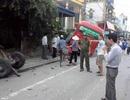 Xe bus va chạm với công nông, 3 người bị thương nặng