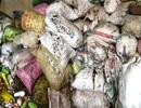 Thu giữ hơn 100 bao tải đựng bơm kim tiêm vẫn còn dính máu