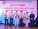 ĐH Quốc gia TPHCM vinh danh 67 nhà giáo được phong hàm GS, PGS