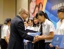 Trao 109 suất học bổng cho nữ sinh kỹ thuật