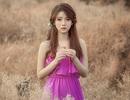 Thiếu nữ 9x mơ mộng giữa vườn hoa baby