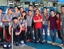 Đoàn Việt Nam chính thức lên đường tham gia Tàu thanh niên Đông Nam Á