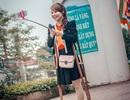 Bức ảnh selfie của cô gái khuyết tật được dân mạng chia sẻ rần rần