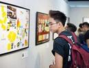 Nhà thiết kế trẻ Hà Nội làm mới tranh Đông Hồ