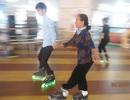 Clip cụ bà 70 tuổi trượt patin điệu nghệ như thanh niên