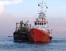 Điều tàu đi cứu 6 ngư dân bị nạn trên vùng biển động