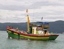 Tàu cá hỏng máy, 17 ngư dân lênh đênh trên biển