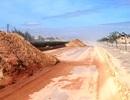 Bình Định: Cát bay lấp đường Khu kinh tế Nhơn Hội