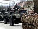 """Mỹ hành quân rầm rộ """"qua cửa ngõ của Nga"""" tới Baltic tập trận"""