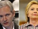 """Wikileaks dọa """"bóc mẽ"""" chiến dịch tranh cử của bà Clinton"""