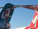 Hy hữu hai máy bay dính chặt đuôi ở Australia
