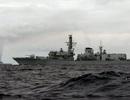Anh triển khai 2 tàu chiến đối phó với đội tàu của Nga