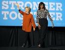 Đệ nhất phu nhân Mỹ lần đầu song hành cùng bà Clinton vận động tranh cử