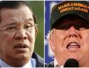 Thủ tướng Campuchia mong ông Trump đắc cử tổng thống Mỹ