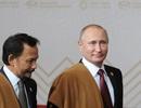 Món quà đặc biệt của người dân Peru tặng Tổng thống Putin