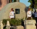 Ngôi mộ đá giản dị của lãnh tụ Cuba Fidel Castro