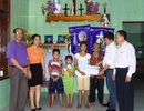 Quảng Bình: Hơn 96 triệu đồng đến 3 đứa trẻ mồ côi cả cha lẫn mẹ