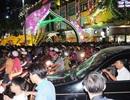 Nhích từng bước chân thăm thú đường hoa Nguyễn Huệ