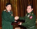 Đoàn Việt Nam dự Hội nghị hẹp Bộ trưởng Quốc phòng ASEAN