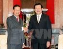 Chủ tịch nước tiếp Phó Thủ tướng Lào Somsavad Lengsavath