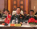 Đoàn quân đội Việt Nam tiếp xúc bên lề hội nghị ACDFIM-12