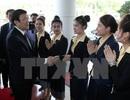 Chủ tịch nước gặp gỡ cộng đồng doanh nghiệp Việt Nam đầu tư tại Lào