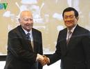 Chủ tịch nước gặp mặt các Giáo sư, chuyên gia Séc từng giúp Việt Nam
