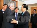 Chủ tịch nước Trương Tấn Sang tiếp Chủ tịch Đảng Cộng sản Séc