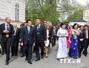 Chủ tịch nước dự khai trương Cơ quan thường trú TTXVN tại Séc