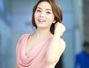 Hoa hậu Kỳ Duyên thướt tha với đầm màu hồng
