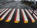 Dùng tranh 3D để giảm… tai nạn giao thông