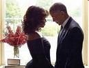 Vợ chồng Tổng thống Obama lại gây sốt với ảnh tình cảm