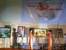 Trưng bày, bán tranh sơn dầu chung tay vì người cao tuổi