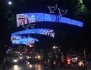 Hà Nội rực rỡ đón mừng 70 năm ngày lập nước