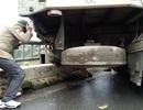 Trung tá CSGT bị tông chết khi điều tiết giao thông trong mưa rét