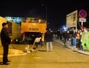 Hà Nội: Va chạm với xe cẩu, người đàn ông đi xe máy tử vong
