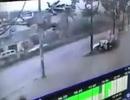 Thời khắc vụ nổ kinh hoàng ở Văn Phú do camera an ninh ghi lại
