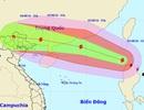 Bão Nida vào Biển Đông, Bắc Bộ sắp mưa to