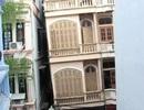 Hà Nội: Thấp thỏm sống gần ngôi nhà 4 tầng nghiêng gần 1m
